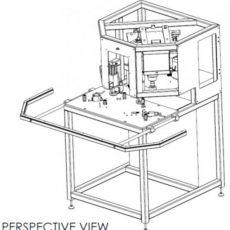 RONDO FSAU - CNC - Univerzálny frézovací automat krídlových štulpových špičiek