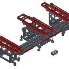ELAN TF M-HST - Stôl sklopný