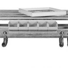 Standard - Pracovný stôl Elan s gumovým profilom